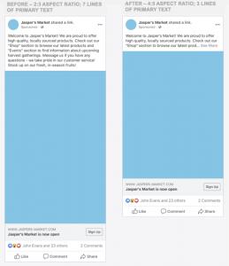 facebook update - 3
