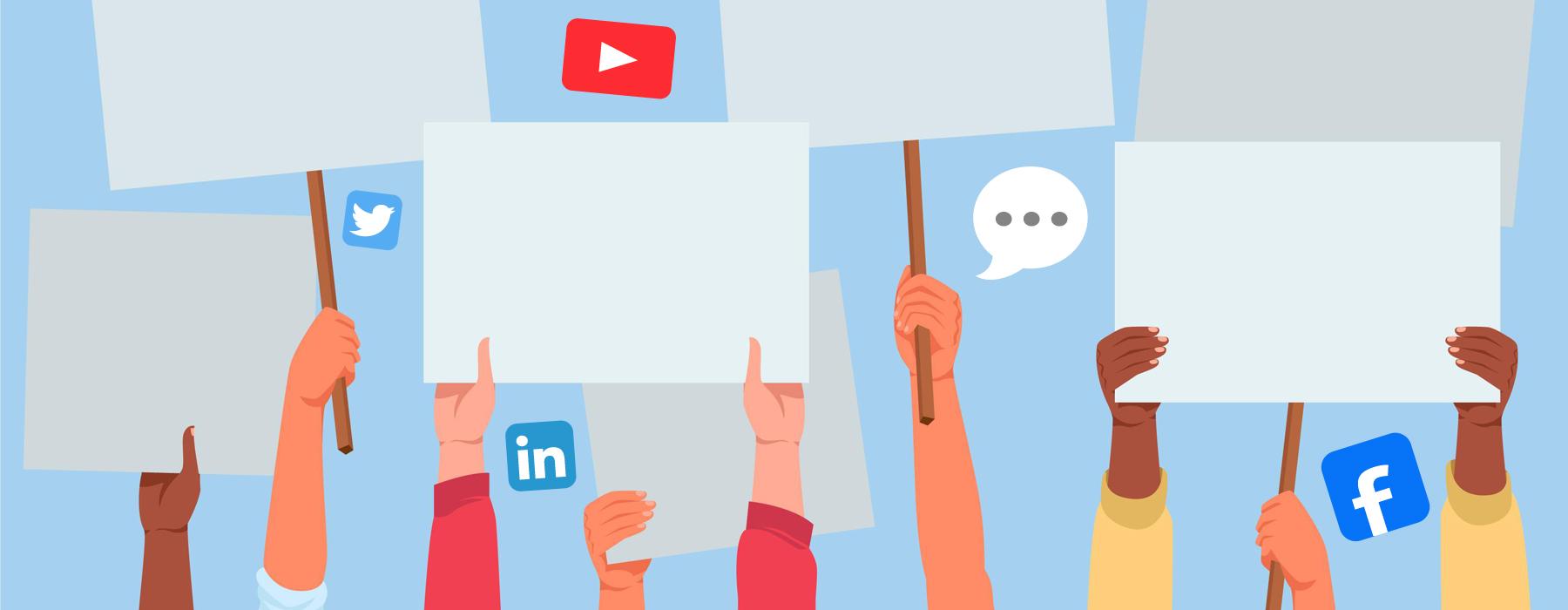 Кратък Наръчник за комуникации в социалните мрежи по време на протести - 1